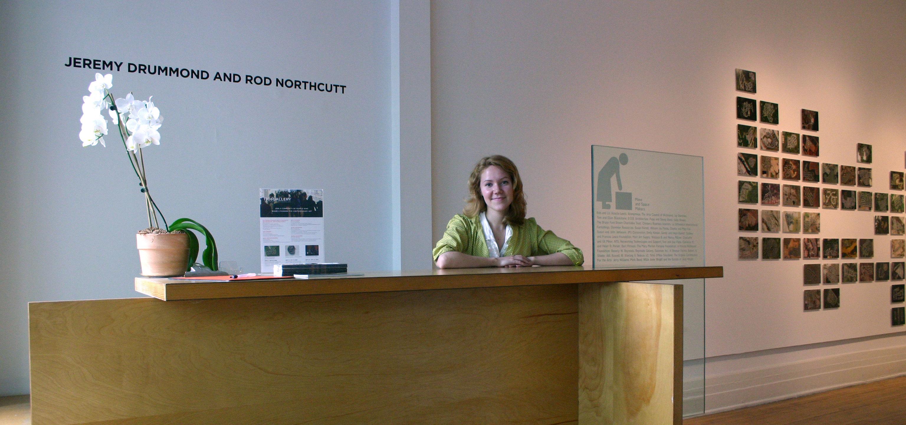 Internships at 1708 Gallery